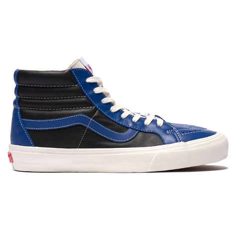 Vans Vault UA SK8-Hi Reissue VLT LX (Leather) True Blue/Black, Footwear