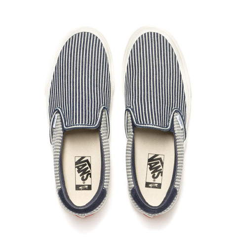 Vans Vault UA Slip-On 59 LX Parisian Night/Marshmallow, Footwear