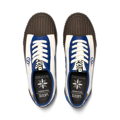 Vans Vault UA x Taka Hayashi Authentic One (Canvas) Natural/True Blue, Footwear