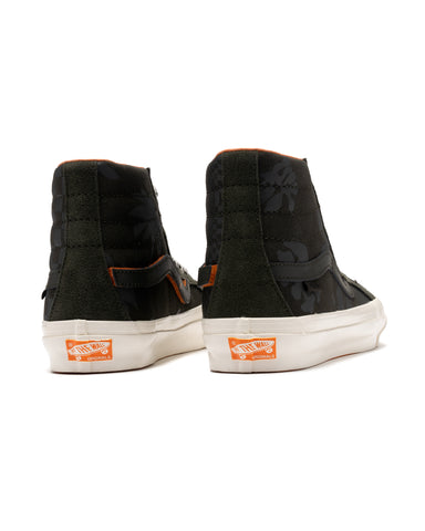 Vans Vault x Porter OG SK8-Hi LX Forest Night / Black Ink, Footwear