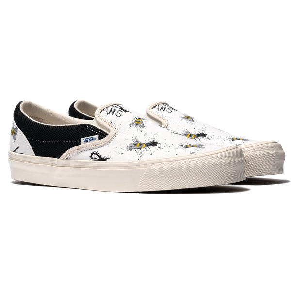 3ba1235a8a6 x Ralph Steadman OG Classic Slip-On Checkerboard Splatter – HAVEN