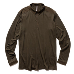Veilance Frame LS Polo Sediment, T-Shirts
