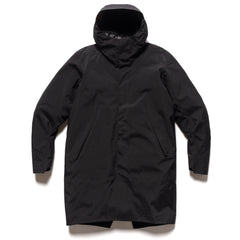 Veilance Monitor Down Coat Black, Outerwear