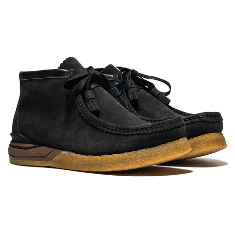 visvim Beuys Trekker-Folk Black, Footwear