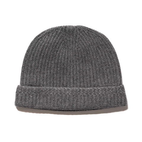 visvim Knit Beanie (Wool) Grey, Headwear