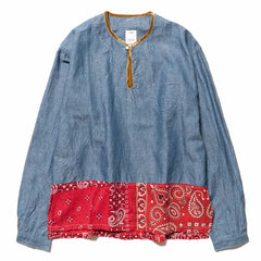 visvim SS Border Tunic P.O Blue, Shirts