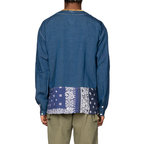 visvim SS Border Tunic P.O Navy, Tops