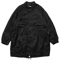 visvim Six-Five Fishtail Parka Black, Outerwear