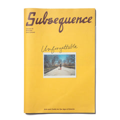 Visvim Subsequence Vol: 02, Publications