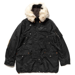 visvim Valdez Coat Collage Black, Outerwear