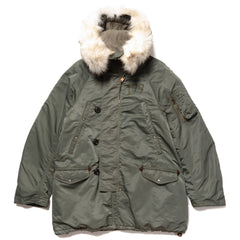 visvim Valdez Coat Collage Olive, Outerwear
