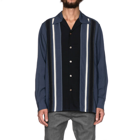 wacko maria 50s Shirt (Type-1) Navy
