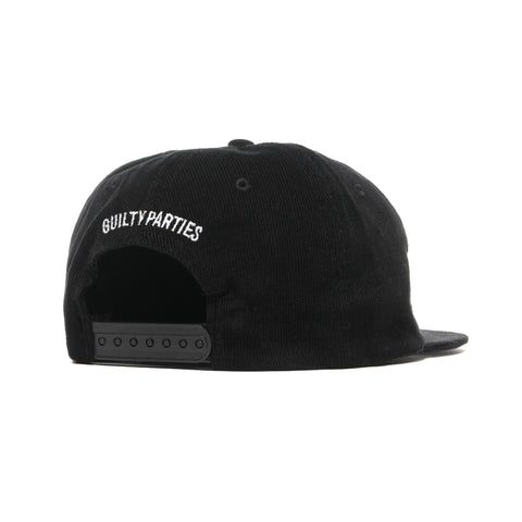 wacko maria Corduroy 6 Panel Cap (Type-1) Black