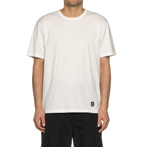 WACKO MARIA Standard Crew Neck T-Shirt (Type-7) White, T-shrits