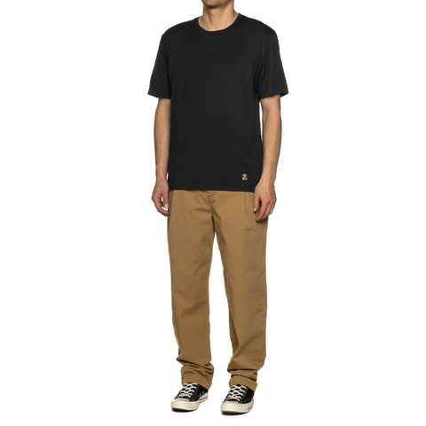 WACKO MARIA Standard Crew Neck T-Shirt (Type-8) Black, T-shrits