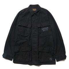 WACKO MARIA Fatigue Jacket (Type-7) Black, Jackets
