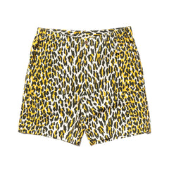 WACKO MARIA Hawaiian Shorts (Type-5) White-Yellow, Shorts