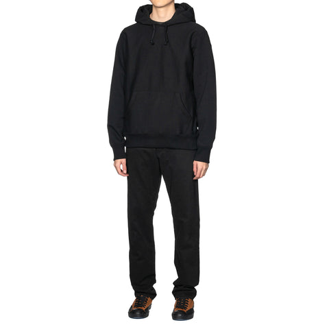 WACKO MARIA Heavy Weight Pullover Hooded Sweat Shirt (Type-6) Black, Sweaters