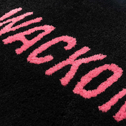 WACKO MARIA Rug Mat (Type-2) Black, Accessories