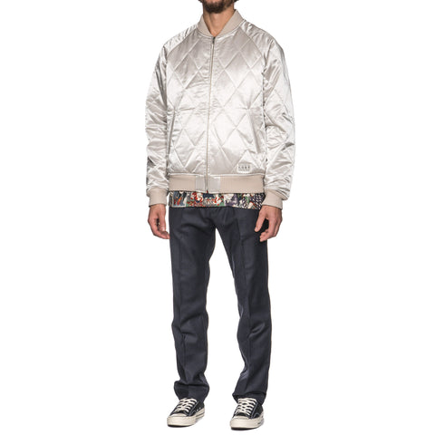 WACKO MARIA Reversible Ska Jacket -B- (Type-3) Silver/Orange, Jackets
