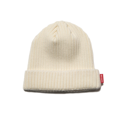 wacko maria Wool Knit Watch Cap Off White