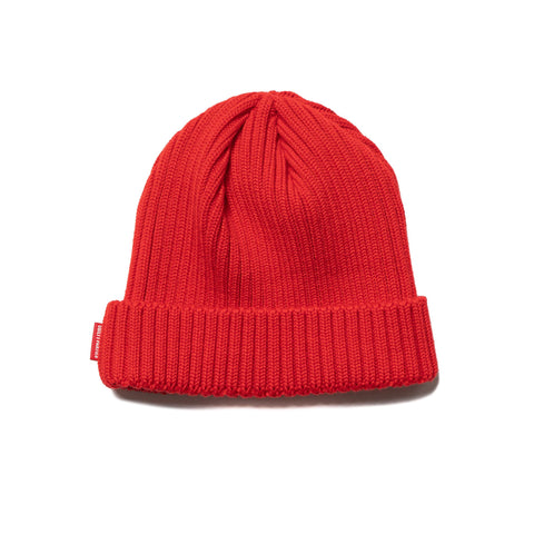 wacko maria Wool Knit Watch Cap Red