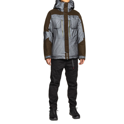 White Mountaineering Gore-Tex Down Jacket Charcoal, Outerwear