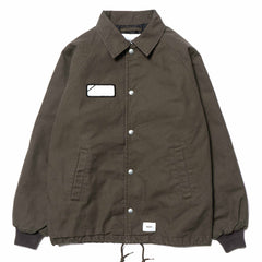 WTAPS A-Gents / Jacket. Cotton. Oxford Olive Drab, Jackets