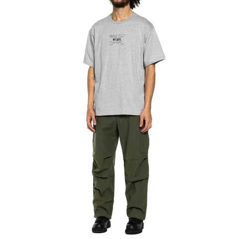 WTAPS Academy SS / Tee . Copo Gray, T-Shirts
