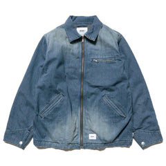 WTAPS Ace / Jacket. Cotton. Denim Indigo, Jackets