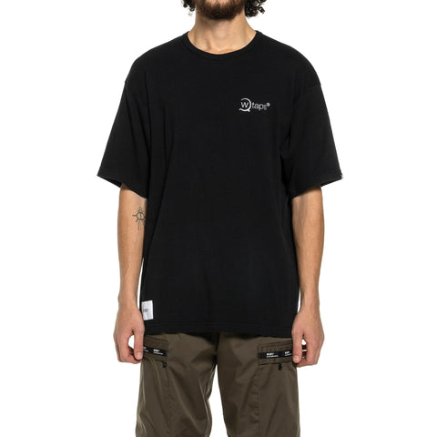 WTAPS Axe . Design SS 02 / Tee . Cotton Black, T-Shirts