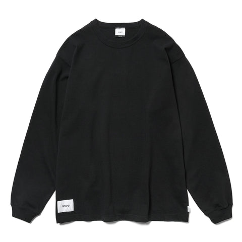 c33864140 WTAPS Blank LS 01 / Tee. Cotton Black, T-Shirts ...
