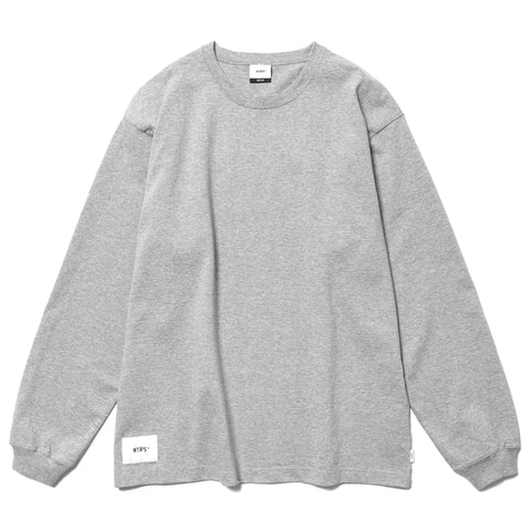 04941e6cd WTAPS Blank LS 01 / Tee. Cotton Gray, T-Shirts ...