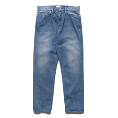 WTAPS Blues Baggy / Trousers / Cotton. Denim Indigo, Bottoms