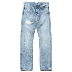 WTAPS Blues Very Skinny Trash / Trousers. Cotton. Denim Indigo, Bottoms