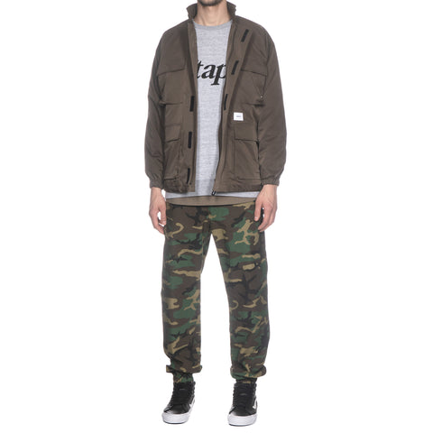 wtaps Boonie 02 / Trousers. Cotton. Ripstop Woodland