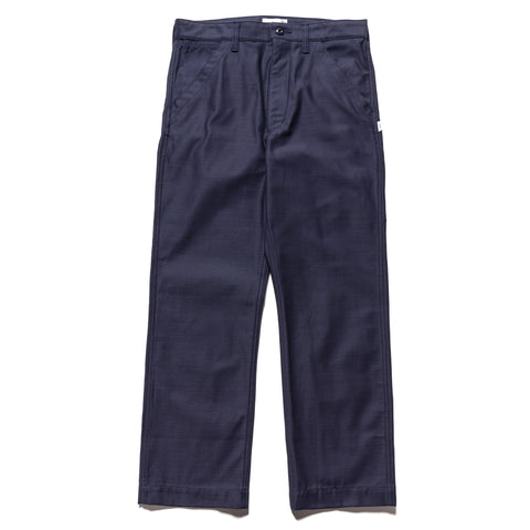 WTAPS Buds / Trousers / Cotton. Satin Navy, Bottoms