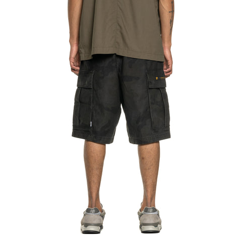 WTAPS Cargo Shorts 02 / Shorts. Cotton. Satin. Camo Woodland, Bottoms