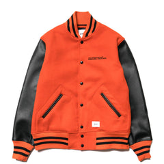 WTAPS Club / Jacket. WOPO. Melton Orange, Jackets