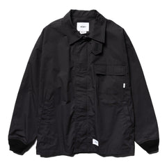 WTAPS D2 / Jacket . Cotton . Weather Black, Outerwear