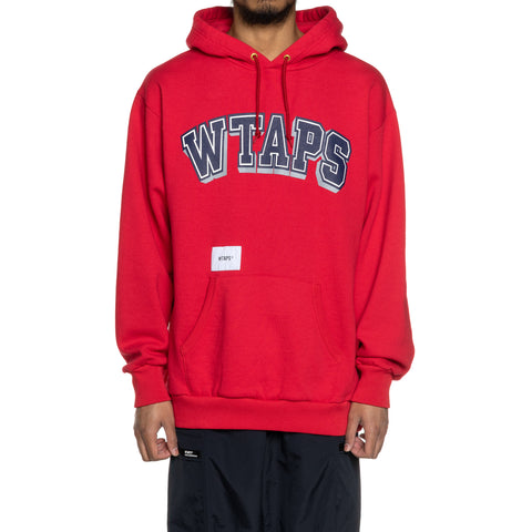 WTAPS Dawn . Design Hooded / Sweatshirt . Copo Red, Sweaters