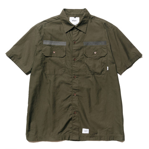 226781700 WTAPS Deck SS / Shirt . Cotton.