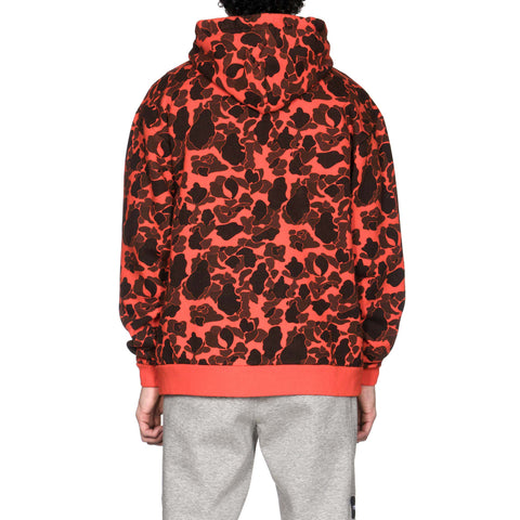 WTAPS Design Hooded College / Sweatshirt . Cotton Camo Orange, Sweaters