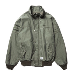 WTAPS FAD / Jacket . Cotton . Satin Gray, Outerwear