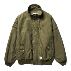 WTAPS FAD / Jacket . Cotton . Satin Olive Drab, Outerwear