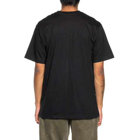WTAPS Fabrication SS T-Shirt Black, T-Shirts