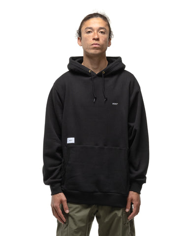 WTAPS Flat / Hooded / Cotton Black, Sweaters
