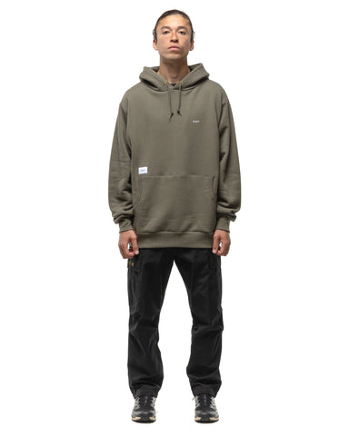 WTAPS Flat / Hooded / Cotton Olive Drab, Sweaters