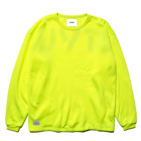 WTAPS GIM. Design Crew Neck / Sweatshirt. Acry Yellow, Sweaters