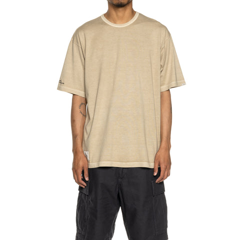 WTAPS GPS. Design SS 02 / Tee. Cotton Beige, T-Shirts